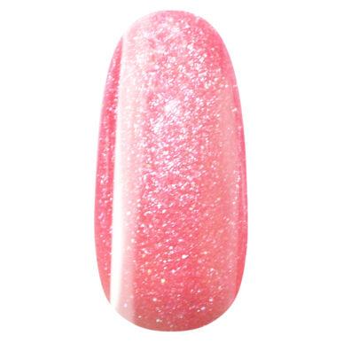 Oja semipermanenta Unicorn 504 gel lac - Roz bonbon strălucitor