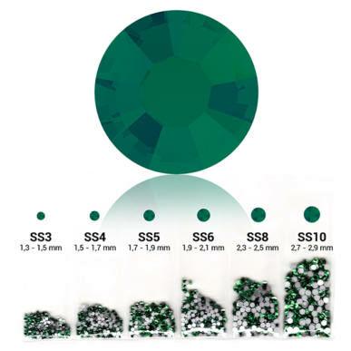 Set cristale decorative 6in1 - Emerald