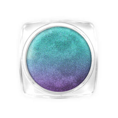 5D Galaxy Cat Eye Powder - Purple-green