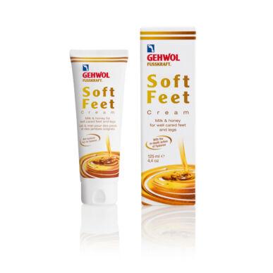 Cremă cu lapte și miere GEHWOL FUSSKRAFT® SOFT FEET CREAM, 125ml