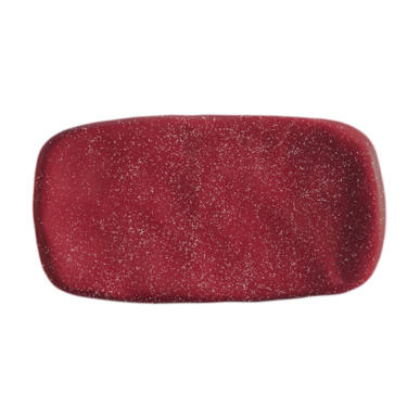 PlastiLine Glitter WINE color gel - Roșu