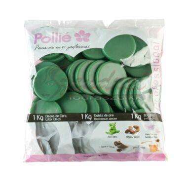 Pollié ceară tip dischete cu aloe vera 1 kg