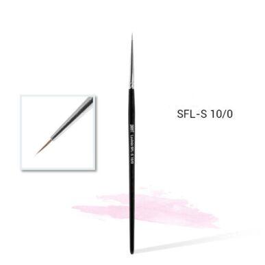 Pensulă pentru decorare din păr sintetic Lavinia SFL-S 10/0 mini #0