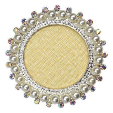 Display pentru tipsuri rotund cu perle