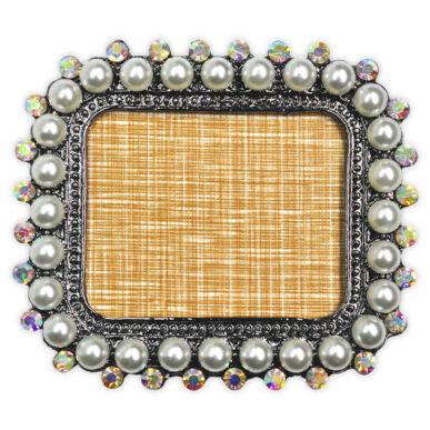 Display pentru tipsuri pătrat cu perle
