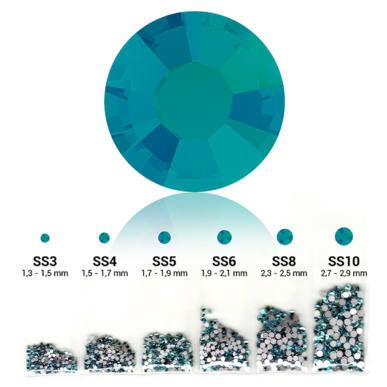 Set cristale decorative 6in1 - Blue Zircon