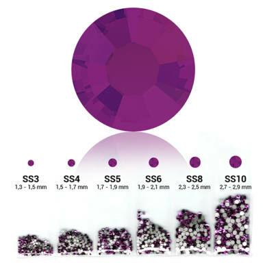 Set cristale decorative 6in1 - Dark Amethyst