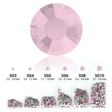Set cristale decorative 6in1 - Light Pink