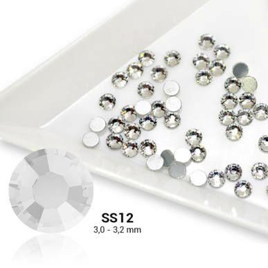 Cristale SS12 Crystal - Argintiu
