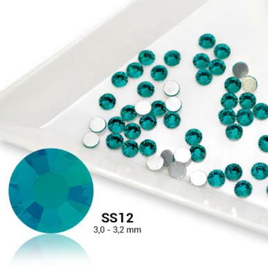 Cristale SS12 Blue Zircon - Albastru-Turquaz