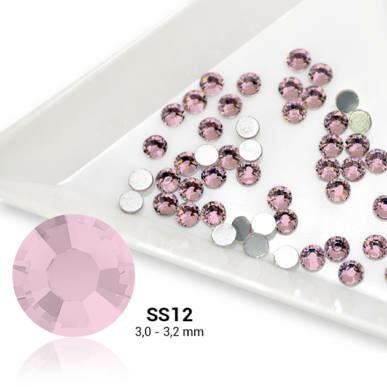 Cristale SS12 Light Pink -  Roz deschis