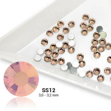 Cristale SS12 Light Peach - Piersică