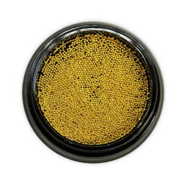 Caviar metalic auriu