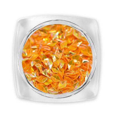 Paiete diamant 3D - portocaliu G2