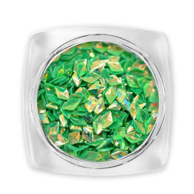 Paiete diamant 3D - verde G6