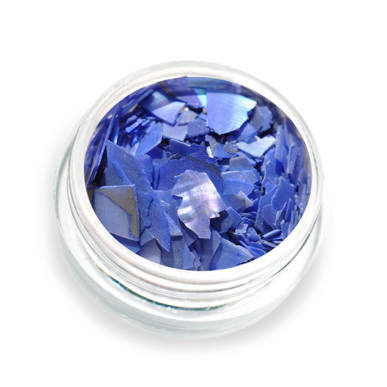 Scoici pisate cu reflexii - albastru P4