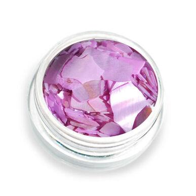 Scoici pisate cu reflexii - violet P10