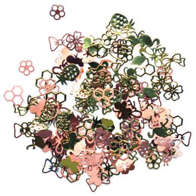 Ornamente metalice - mix primăvară